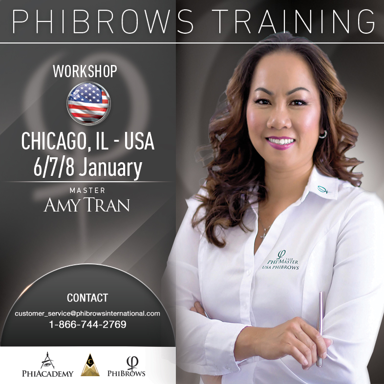 3-Day Phibrows Microblading Training Course in Chicago, IL from 01/06/2019 to 01/08/2018