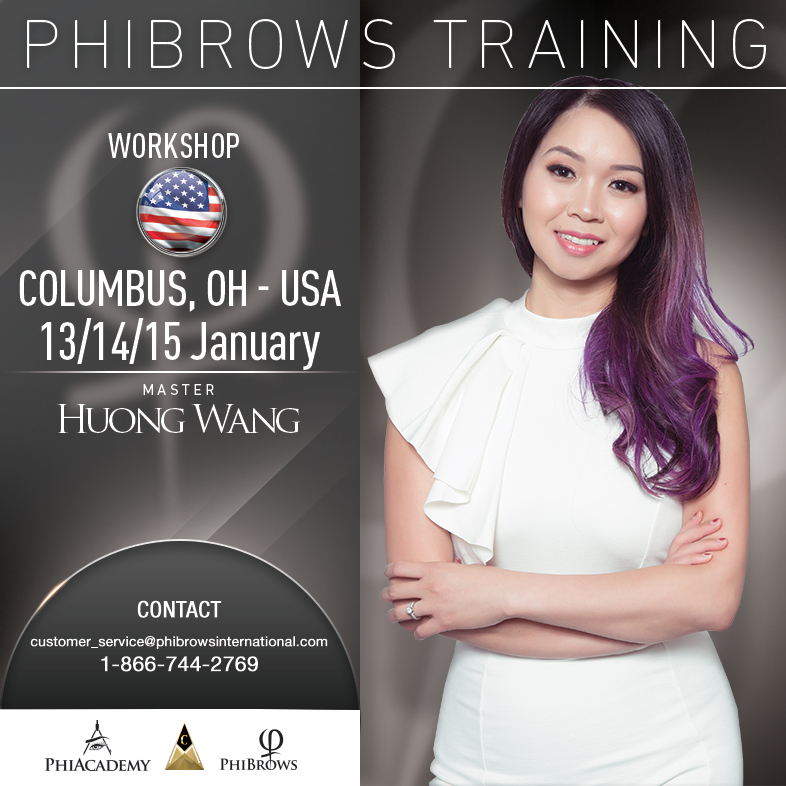 3-Day Phibrows Microblading Training Course in Columbus, OH from 01/13/2019 to 01/15/2019