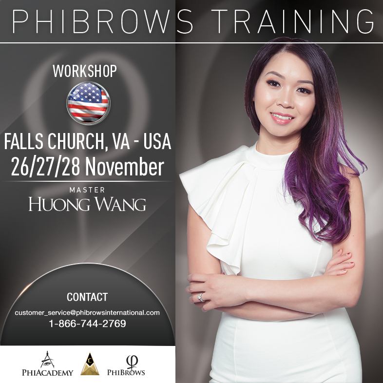 3-Day Phibrows Microblading Training Course in Falls Church, VA from 11/26/2018 to 11/28/2018