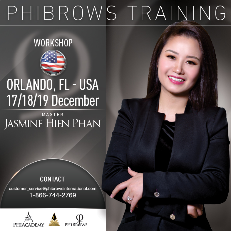 3-Day Phibrows Microblading Training Course in Orlando, Fl from 12/17/2018 to 12/19/2018