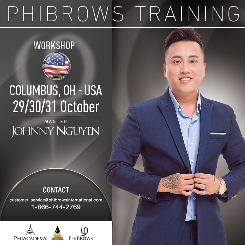 3-Day Phibrows Microblading Training Course in Columbus, OH from 10/29/2018 to 10/31/2018