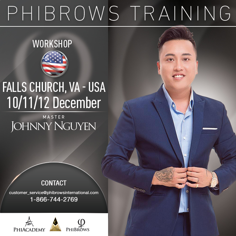 3-Day Phibrows Microblading Training Course in Falls Church, VA from 12/10/2018 to 12/12/2018