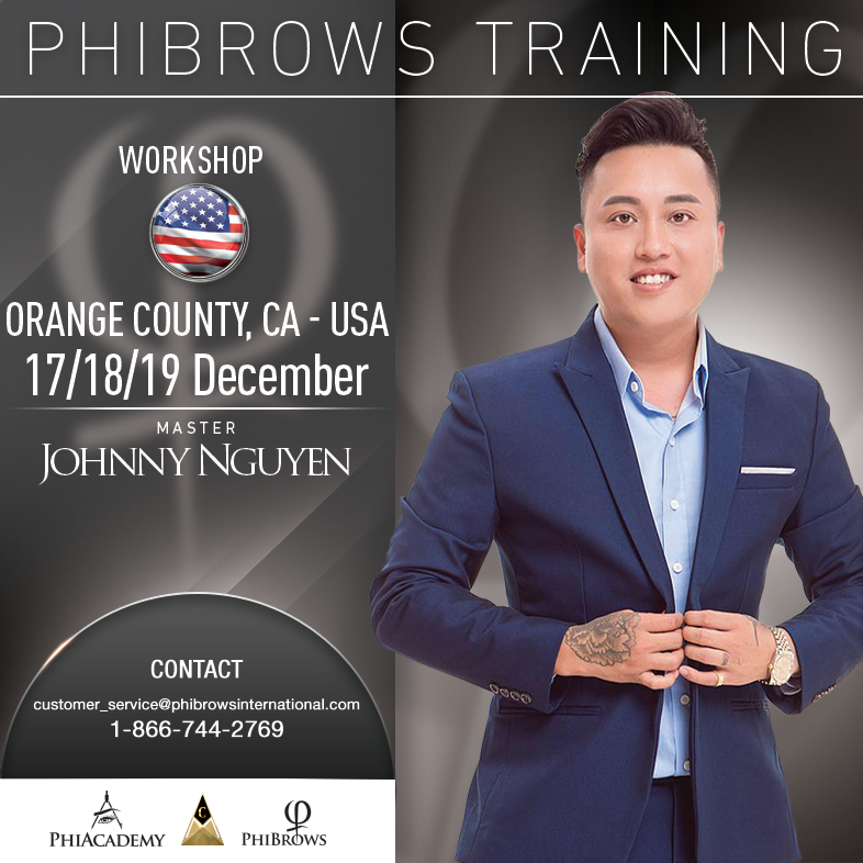 3-Day Phibrows Microblading Training Course in Orange County, CA from 12/17/2018 to 12/19/2018
