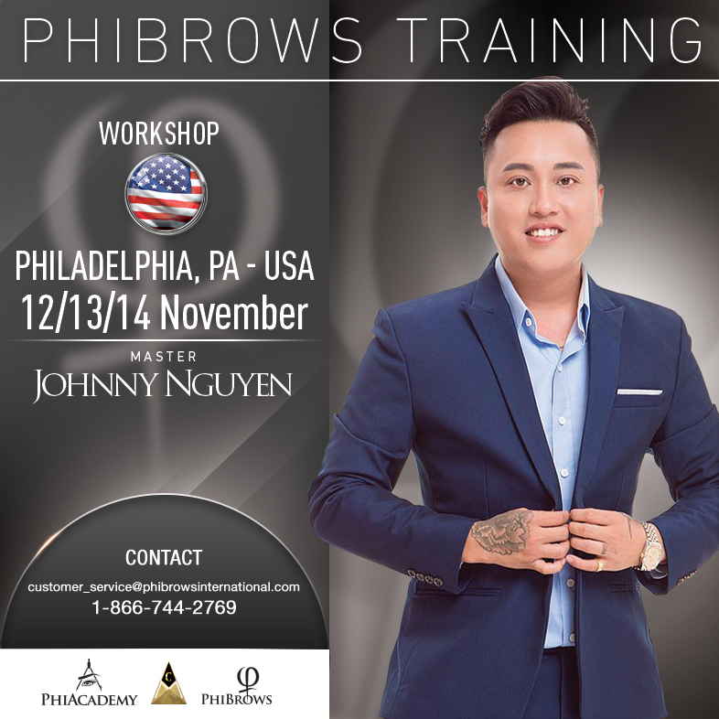 3-Day Phibrows Microblading Training Course in Philadelphia, PA from 11/12/2018 to 11/14/2018