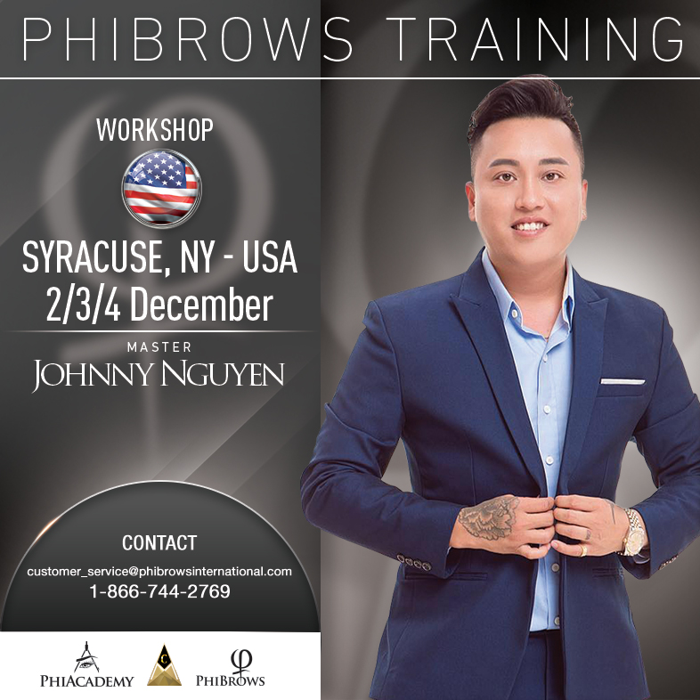 3-Day Phibrows Microblading Training Course in Syracuse, NY from 12/02/2018 to 12/04/2018